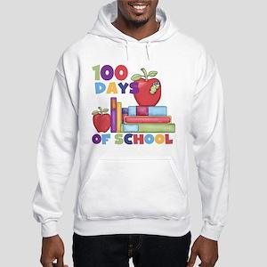 Books 100 Days Hooded Sweatshirt