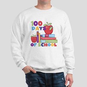 Books 100 Days Sweatshirt