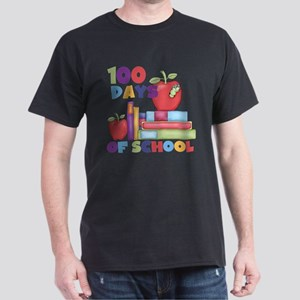 Books 100 Days Dark T-Shirt