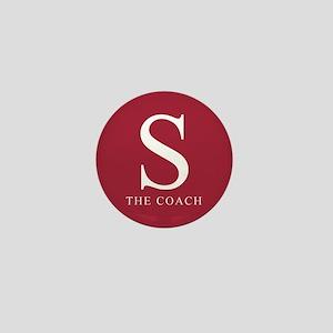 S The Coach Mini Button