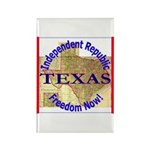 Texas-3 Rectangle Magnet (100 pack)