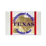 Texas-3 Rectangle Magnet