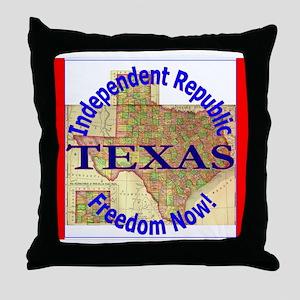 Texas-3 Throw Pillow