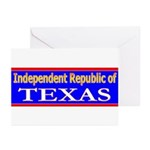 Texas-2 Greeting Cards (Pk of 20)