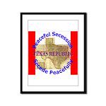 Texas-1 Framed Panel Print