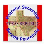 Texas-1 Tile Coaster