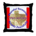 Texas-1 Throw Pillow