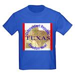 Texas-3 Kids Dark T-Shirt