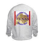 Texas-3 Kids Sweatshirt