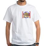 Texas-3 White T-Shirt
