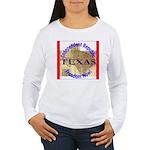 Texas-3 Women's Long Sleeve T-Shirt