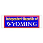 Wyoming-2 Bumper Sticker (50 pk)