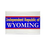 Wyoming-2 Rectangle Magnet (10 pack)