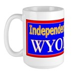 Wyoming-2 Large Mug