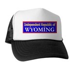 Wyoming-2 Trucker Hat