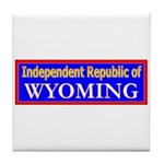 Wyoming-2 Tile Coaster