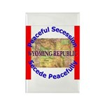 Wyoming-1 Rectangle Magnet (10 pack)