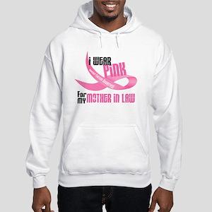 I Wear Pink For My Mother-In-Law 33 Hooded Sweatsh