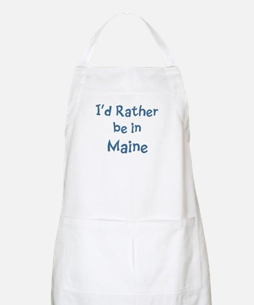 Rather be in Maine BBQ Apron