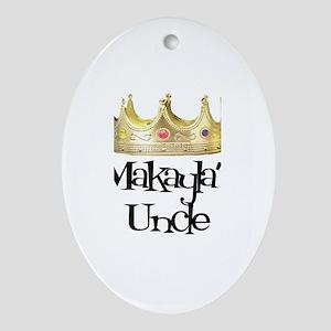 Makayla's Uncle Oval Ornament