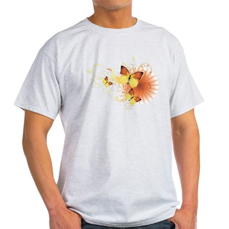 Yellow Butterflies Light T-Shirt