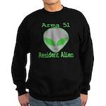 Area 51 Resident Alien Sweatshirt (dark)