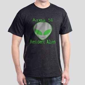 Area 51 Resident Alien Dark T-Shirt