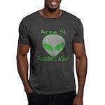 Area 51 Resident Alien Dark T-Shirt