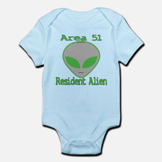 Area 51 Resident Alien Infant Bodysuit