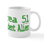 Area 51 Resident Alien Mug