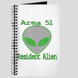 Area 51 Resident Alien Journal