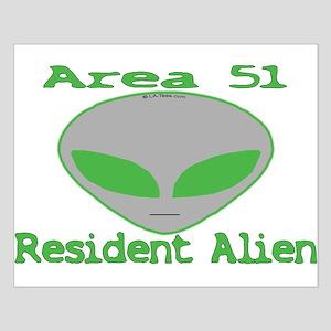 Area 51 Resident Alien Small Poster