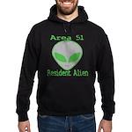 Area 51 Resident Alien Hoodie (dark)