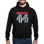 OBAMA 44 Hoodie (dark)