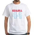 OBAMA 44 White T-Shirt