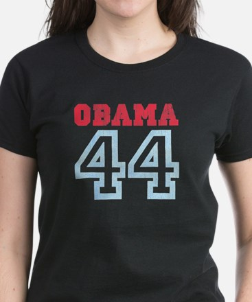 OBAMA 44 Women's Dark T-Shirt