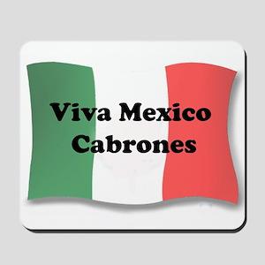 Viva Mexico Cabrones! Mousepad