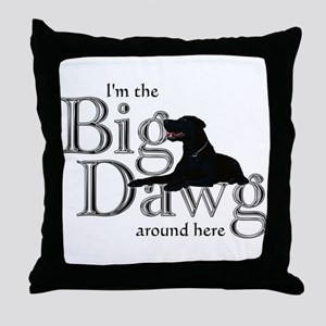 Big Dawg - Throw Pillow