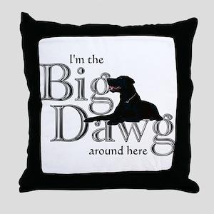 Big Dawg - Throw Pillow