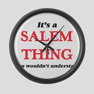 It's a Salem Oregon thing, yo Large Wall Clock