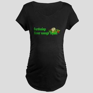 Herb Garden Maternity Dark T-Shirt
