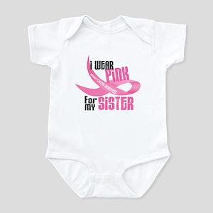 I Wear Pink For My Sister 33 Infant Bodysuit
