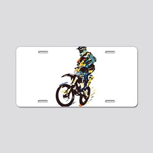 Motocross Aluminum License Plate