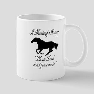 A Mustang's Prayer Mug