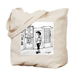 Vending Machine Cartoon 2988 Tote Bag