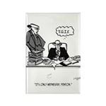 Office Cartoon 2589 Rectangle Magnet (10 pack)