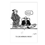 Office Cartoon 2589 Postcards (Package of 8)