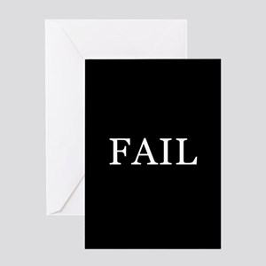 FAIL Greeting Card