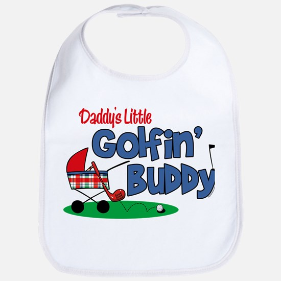 Daddy's Little Golfin' Buddy Bib