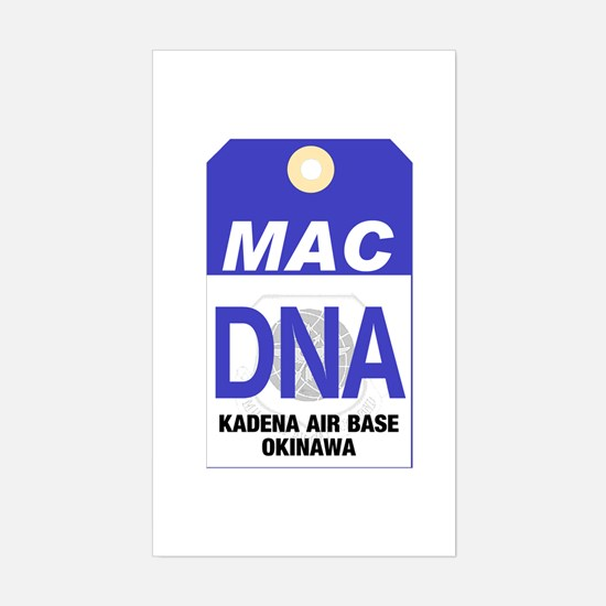 Kadena AB MAC Tag Decal